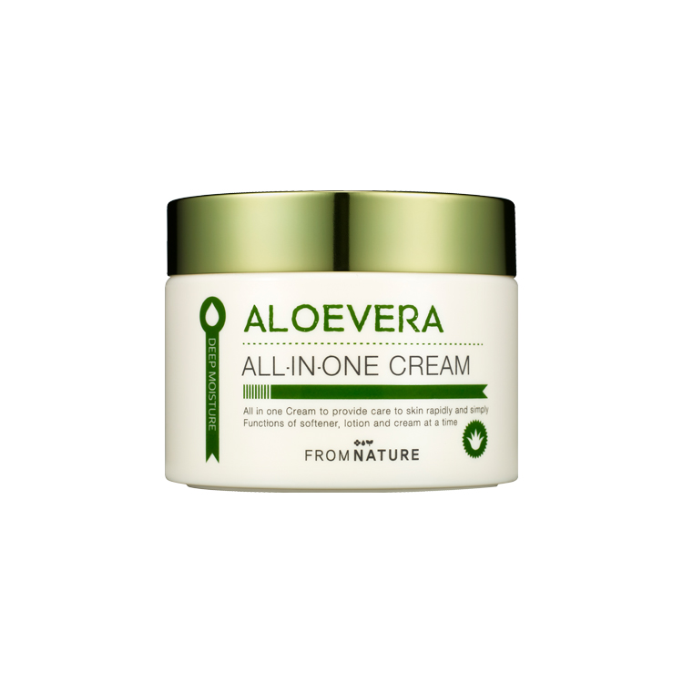 Aloevera All-In-One Cream 100g (Expiry Date 2019.11.28)