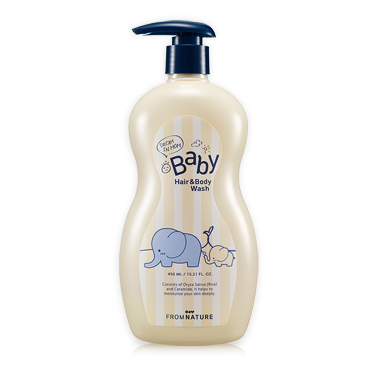 Dream In Mom Baby Hair & Body Wash 450ml