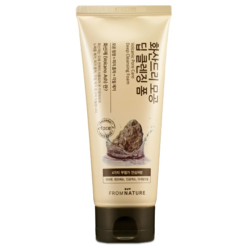 Volcanic Pore Care Deep Cleansing Foam 130g