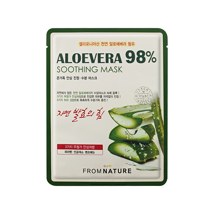 Aloevera 98% Soothing Mask