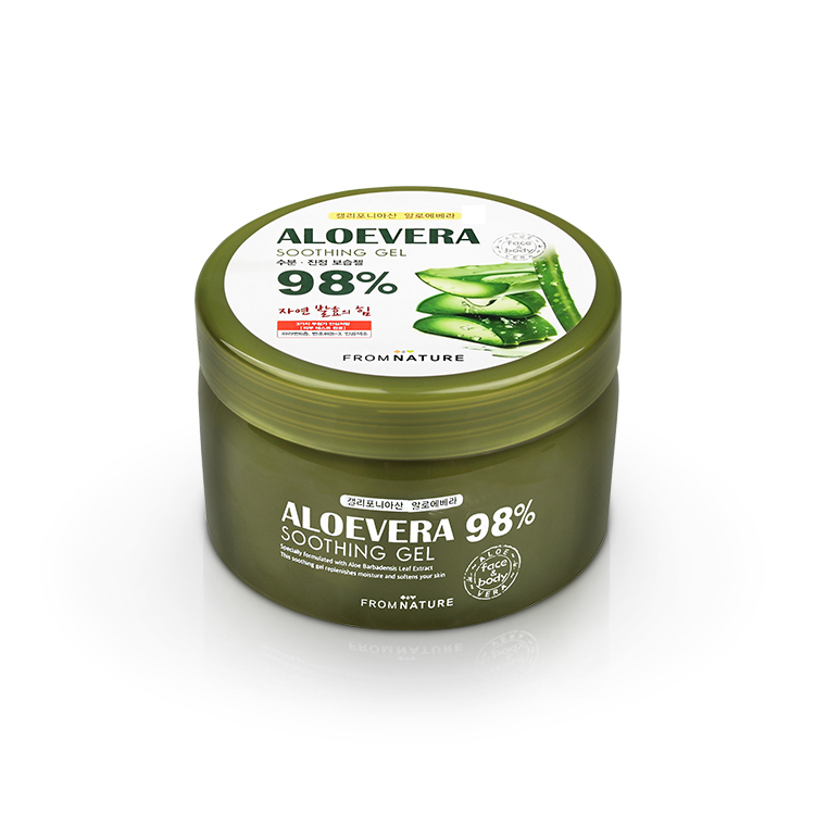 Aloevera 98% Soothing Gel 500g