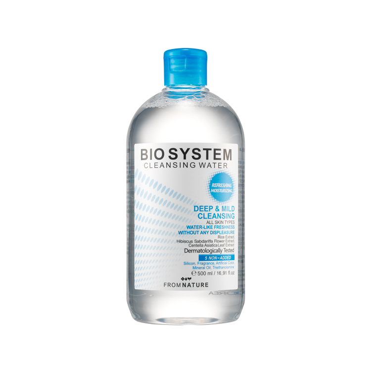 Bio System Cleansing Water 500ml