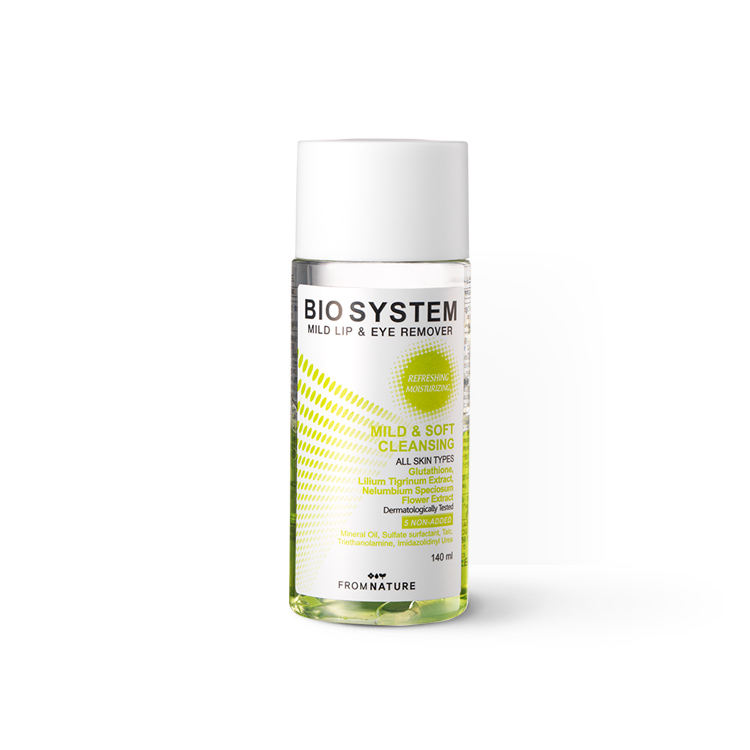 Bio System Mild Lip & Eye Remover 140ml