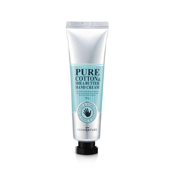 Pure Cotton & Shea Butter Hand Cream 50ml