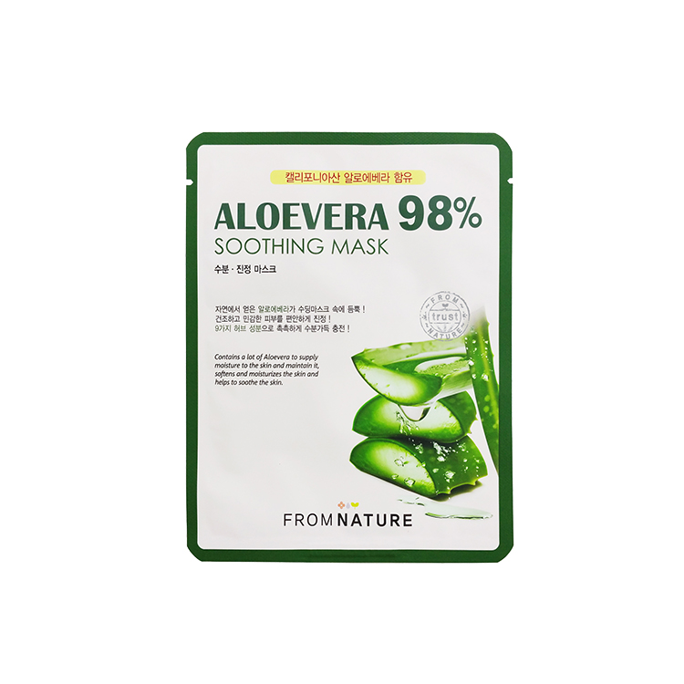 Aloevera 98% Soothing Mask 22ml 10pcs