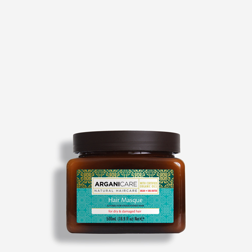 ARGANICARE Argan & Shea Butter Hair Masque for Dry and Damage Hair 500ml
