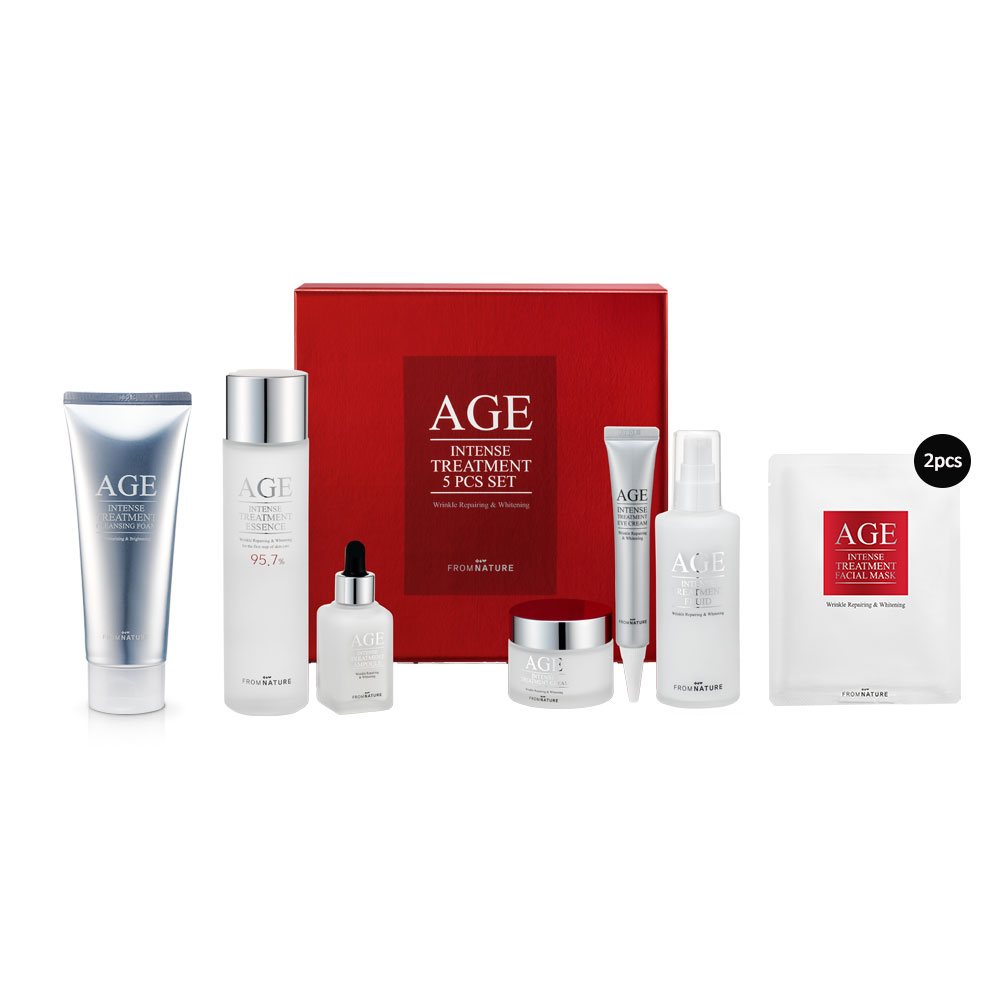 Age Intense Treatment Special 5 Item Set Limited Edition x Eazzy Paste
